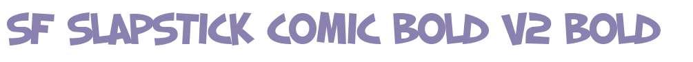 SF Slapstick Comic Bold V2