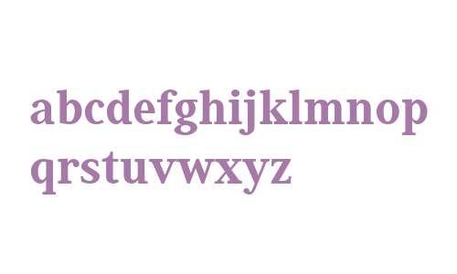 Generis Serif W04 Heavy