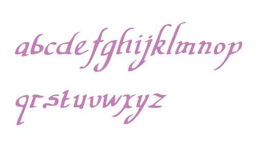 Valley Forge Italic