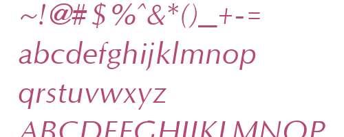 optane bold font