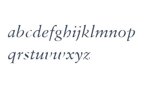 Monotype Sabon W04 Italic
