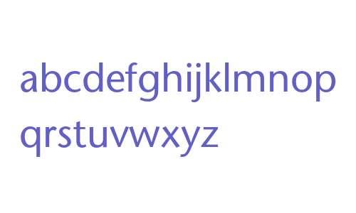 ITC Stone Sans Phonetic IPA