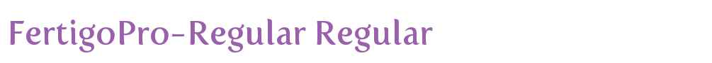 FertigoPro-Regular