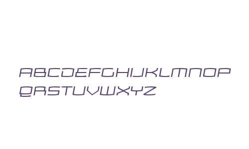 Zosma W00 Light Italic