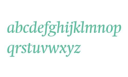 Swift Neue LT W04 Book Italic