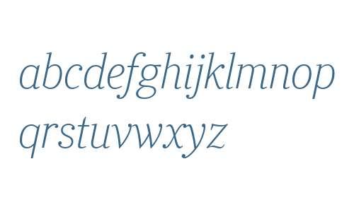 Ysobel Display W04 Thin Italic