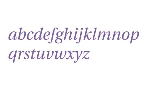 Utopia Italic with Oldstyle Figures