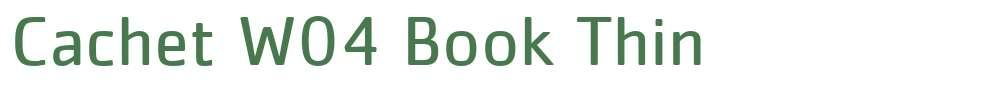 Cachet W04 Book