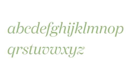 Domaine Display Italic