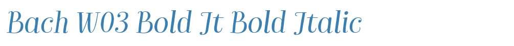 Bach W03 Bold It