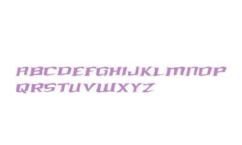 Kreature Kombat Warped Italic