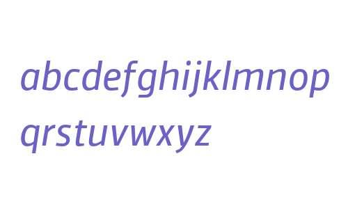 Vinkel W03 Regular Italic