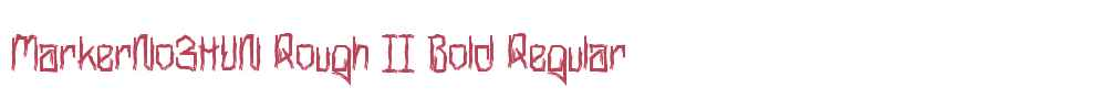 MarkerNo3HUN Rough II Bold