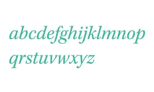 KeplerStd-Italic