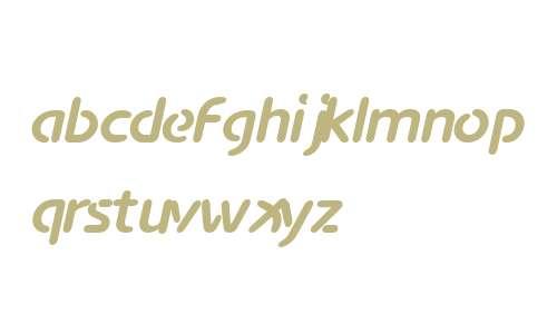 Advance W00 Bold Italic