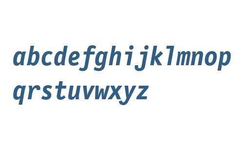 LetterGothicMonoWeb-BoldItalicW03