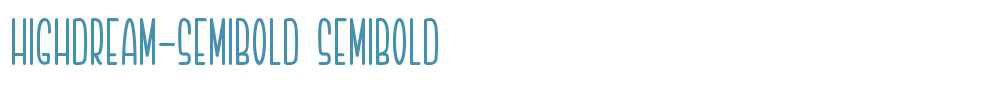 Highdream-Semibold