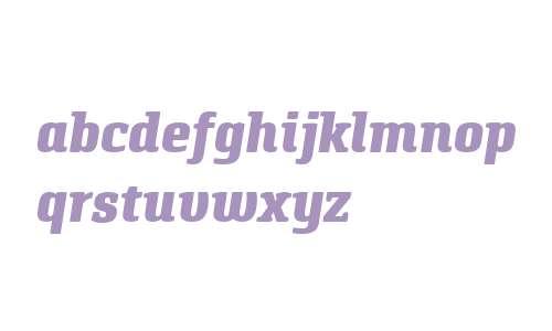 Pancetta Serif Pro Black Italic