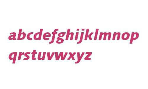 Syntax Next LT W04 Heavy Italic