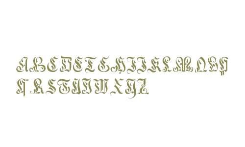 Curved Manuscript, 17th c.