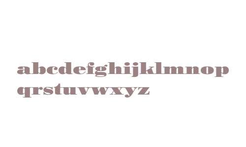 Pergamon Ext W03 Bold