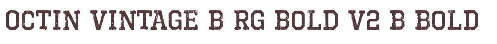Octin Vintage B Rg Bold V2