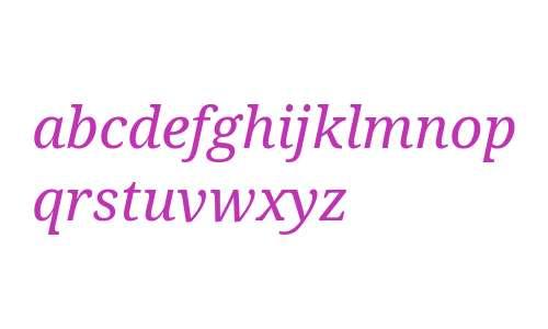 Droid Serif Italic