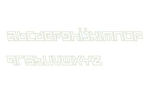 Guardian Warrior Light Back Italic