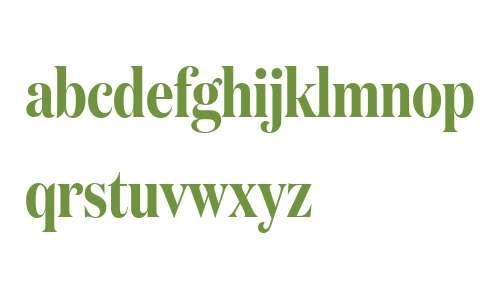 Domaine Display Condensed Semibold Regular