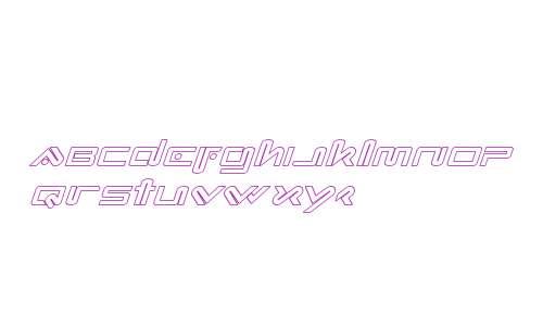 Xephyr Outline Italic