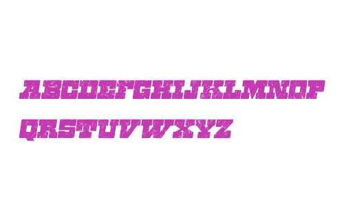 Zennat W00 Four Italic