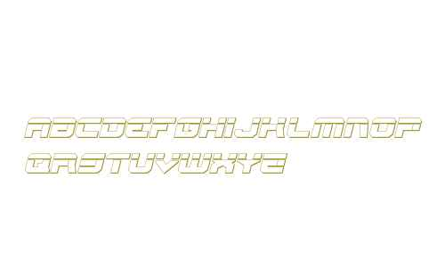 Gearhead Bullet Italic