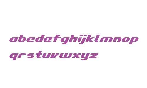 Commonwealth Expanded Italic