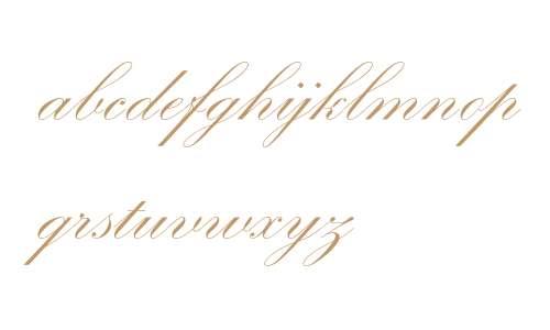 Kuenstler-Schreibschrift* 2 VERSION ROMAIN Bold