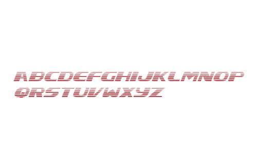 Xcelsion Gradient Italic Italic