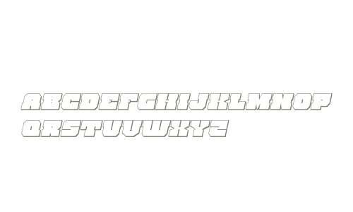 Kittrick 3D Italic