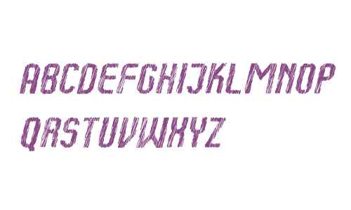 Kumba Sketch Italic