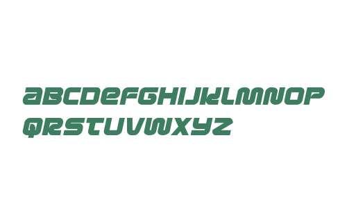 Metronauts Semi-Italic