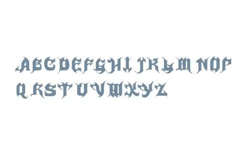 Haunted Fonts Downloads - OnlineWebFonts COM