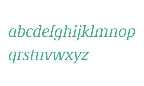 Demos Next W04 Italic