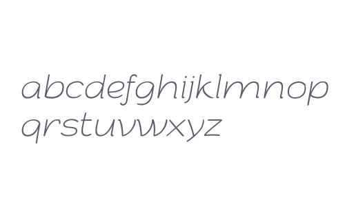 Arturo Trial Thin Italic