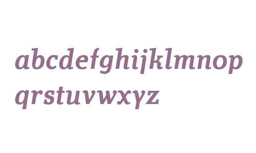 Technotyp W02 Medium Italic
