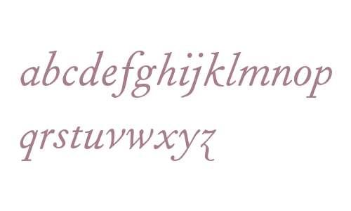 Fournier MT Italic