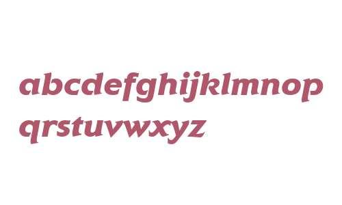 Elan ITC W04 Black Italic