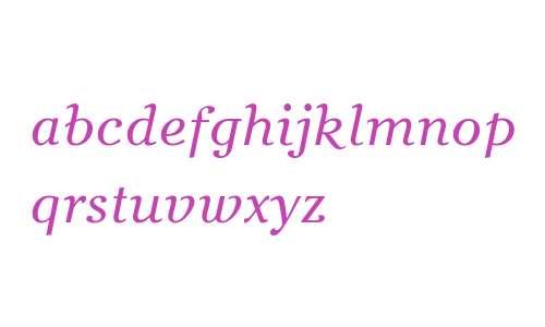 Bachenas W08 Italic