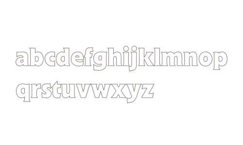 Flick Bold Hollow Fonts Downloads - OnlineWebFonts COM