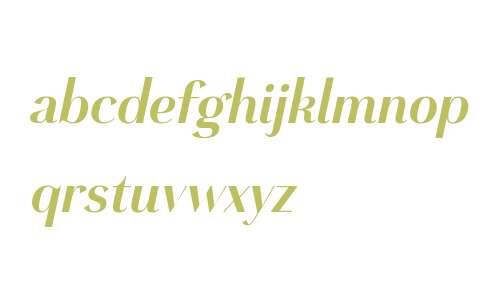 Grenale W01 Cond Bold Italic