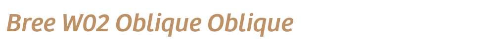 Bree W02 Oblique