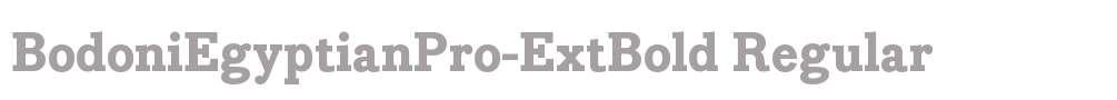 BodoniEgyptianPro-ExtBold