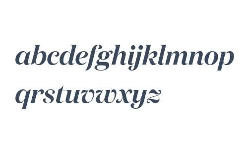 Domaine Display Semibold Italic Regular